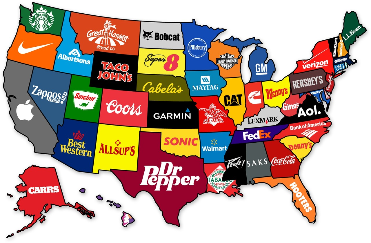 A Map Of The 124 United States Of America That Could Have Been If